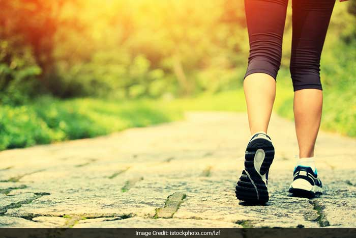 Start your day with a morning walk. When you feel fit and healthy your self-confidence increases and you feel more able to cope with the demands made on you. Time spent in walking means time taken off from the stresses of daily life.