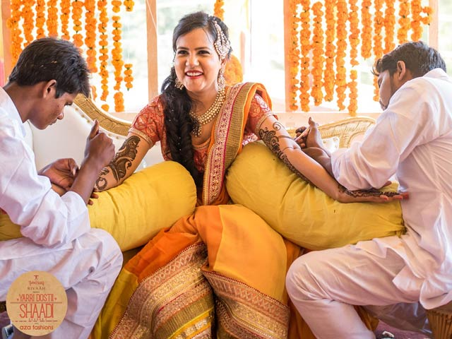 Photo : Ankit and Neha Tie The Knot In A Regal Marwari Ceremony