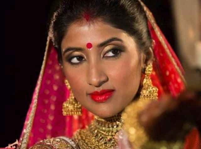 Photo : Band Baajaa Bride: Dusky Bengali bride weds a Punjabi gabru