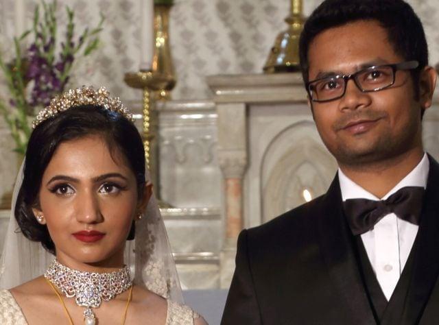 Photo : Bengali beauty weds in Christian style on Band Baajaa Bride