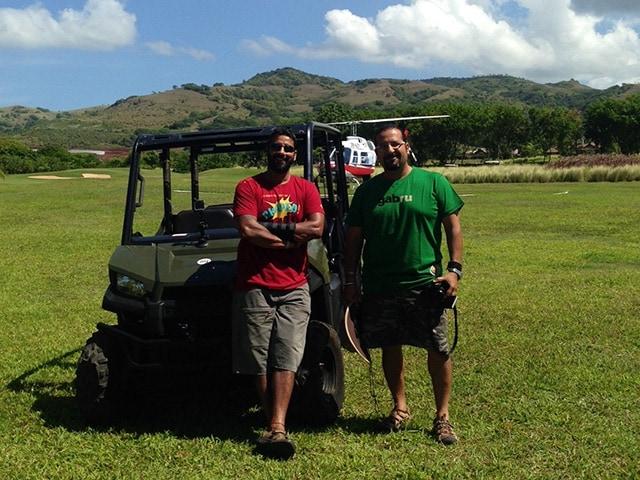 Photo : Rocky, Mayur Visit Mauritius Again