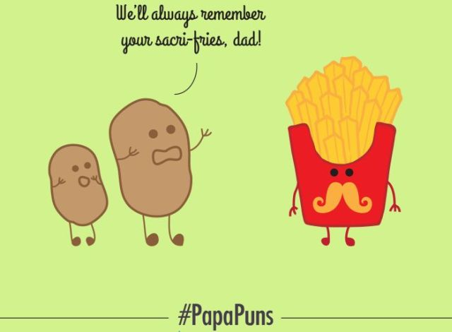 Photo : 7 Puns to Brighten Father's Day For You