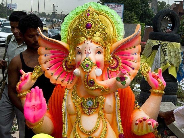 Photo : India celebrates the festival of Ganesh Chaturthi
