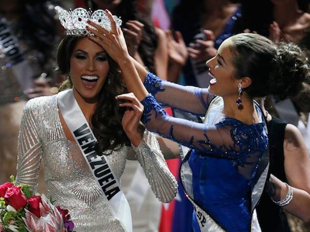 Photo : Miss Venezuela Gabriela Isler won the coveted Miss Universe 2013 crown