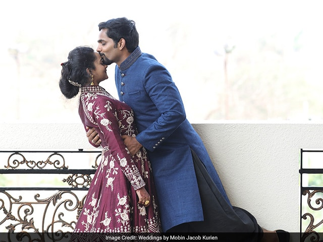 Photo : Sneha And Aswath Tie The Knot In An Elaborate Tam-Brahm Wedding Ceremony