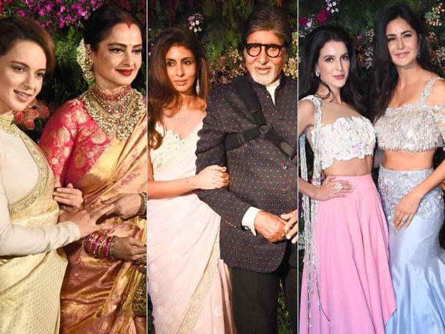 Photo : 37 Photos में देखें  Virat-Anushka का ग्रैंड Reception
