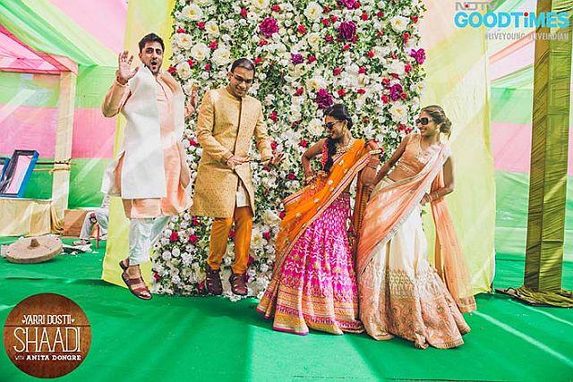 Photo : A Peek Into Amisha and Mohit's Videshi-style Wedding