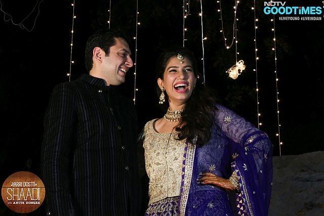 Photo : The Big-Fat Punjabi-Parsi Style Wedding