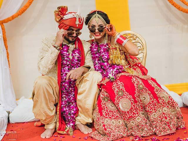 Photo : Yarri Dostii Shaadi: Aneha and Nishant Get Married in Style