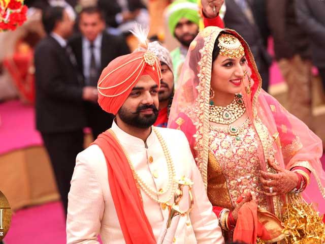 Photo : Zohrawar, Suhab's Patiala Style Wedding on Yarri Dostii Shaadi