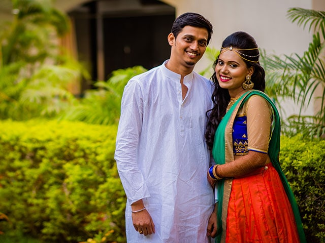 Photo : Abhijeet And Supriya's Marathi Wedding Is A Riot Of Colours