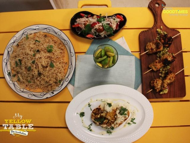 Photo : My Yellow Table: Recipes of BBQ Cauliflower and Pulao