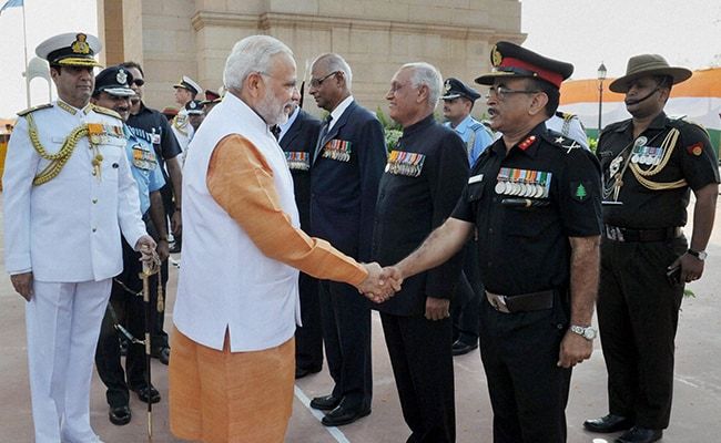 5 Pics: President, PM Modi Pay Homage to 1965 War Martyrs