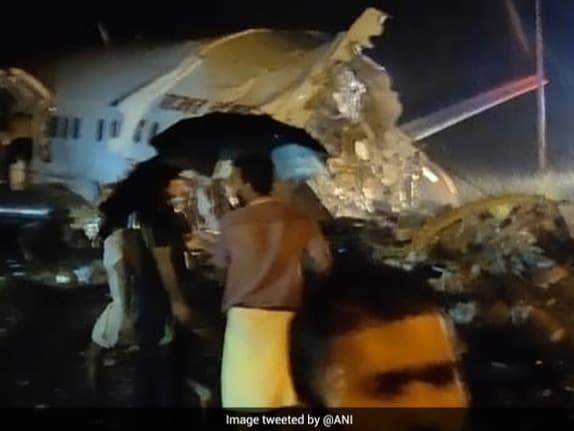 Air India Express Plane Overshoots Runway While Landing In Kerala. See Pics