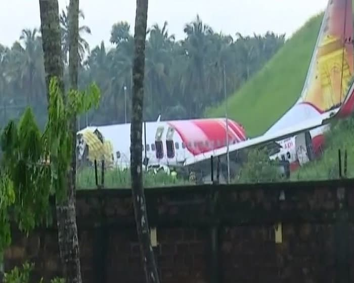 First Pics: Air India Express Plane Breaks Into 2 While Landing In Kerala