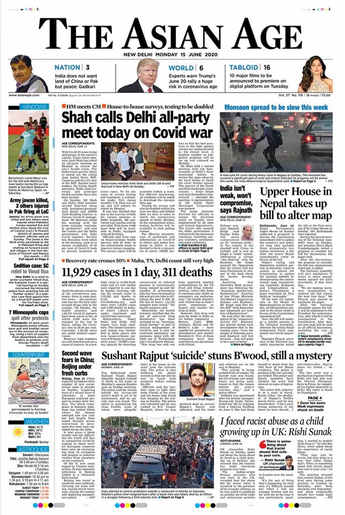 Amit Shah Calls All-Party Meet On COVID-19 Today And Other Top Stories