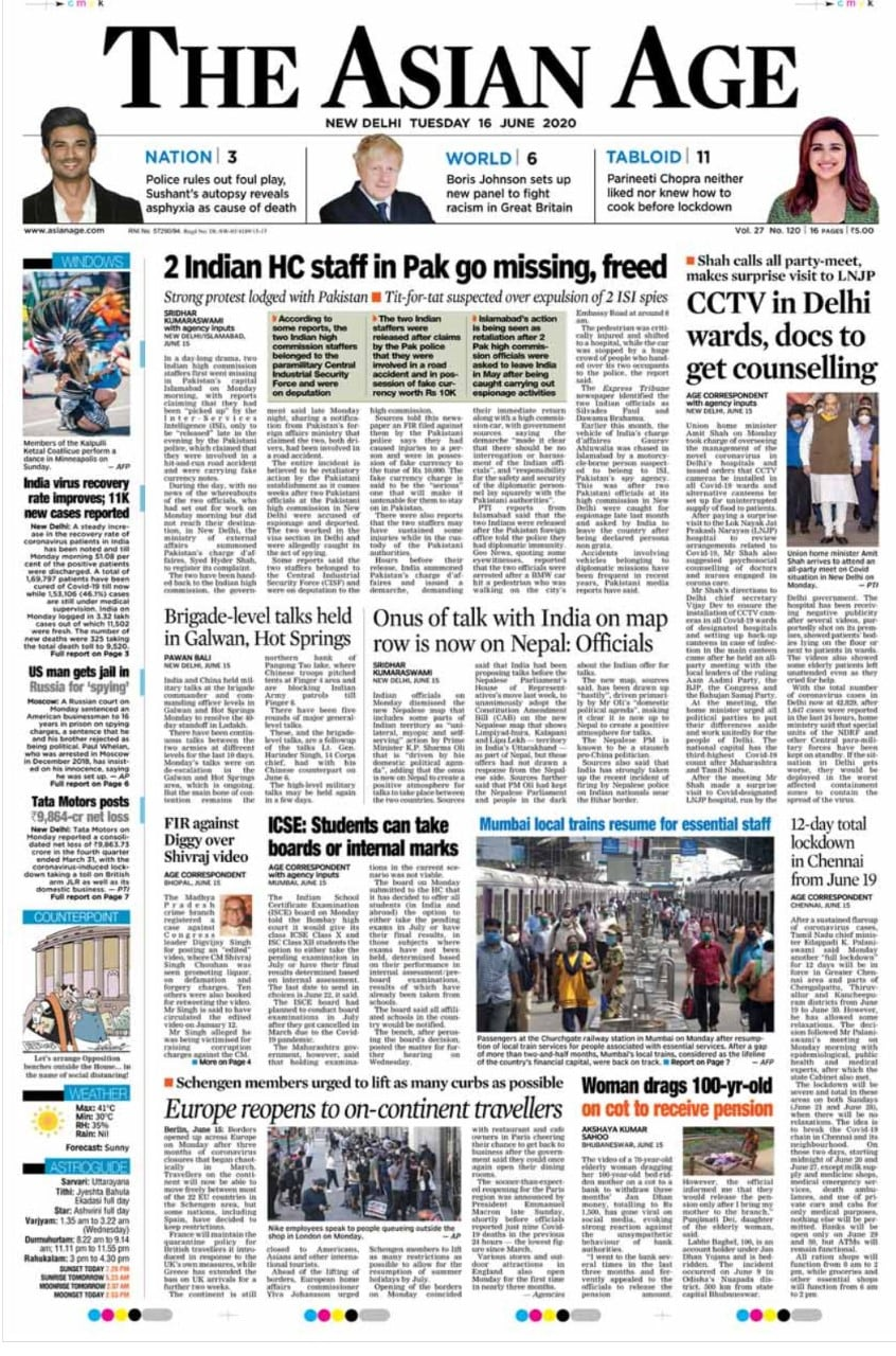 Amit Shah Orders CCTV For Delhi\'s COVID-19 Hospitals And Other Top Stories