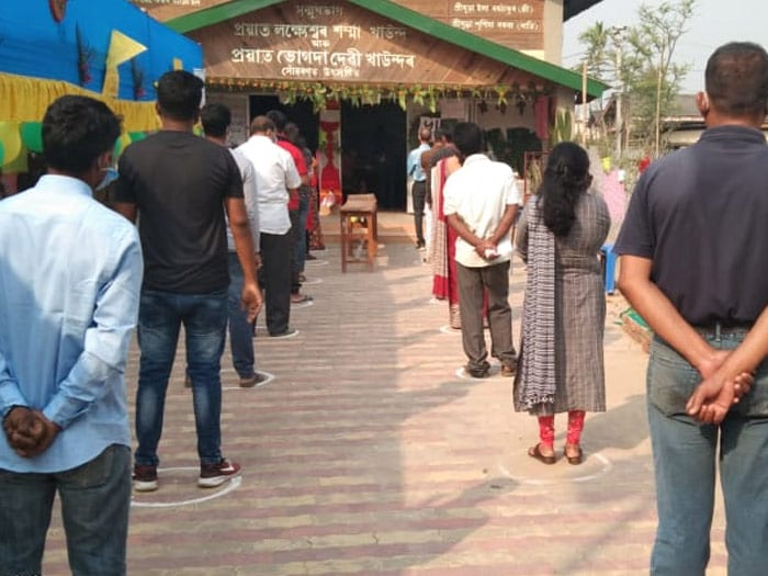 Assam, Bengal Votes In The First Phase Of Assembly Elections: Photos
