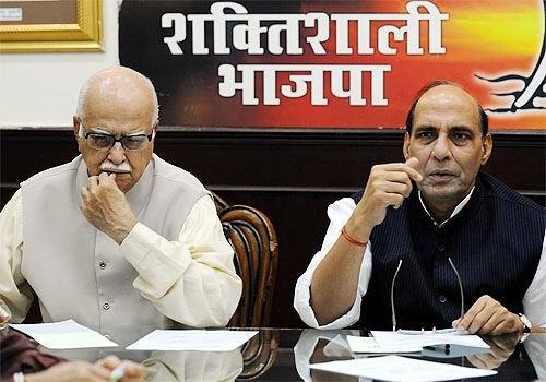 Photo : BJP in the line of fire
