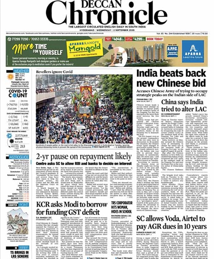 Despite Talks On, China Took Provocative Action Again, Says Centre; Other Top Stories