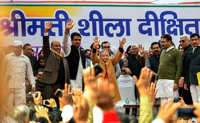 अचानक ही दिल्ली को अलविदा कह कर चली गईं शीला दीक्षित, तीन बार रहीं राज्य की मुख्यमंत्री
