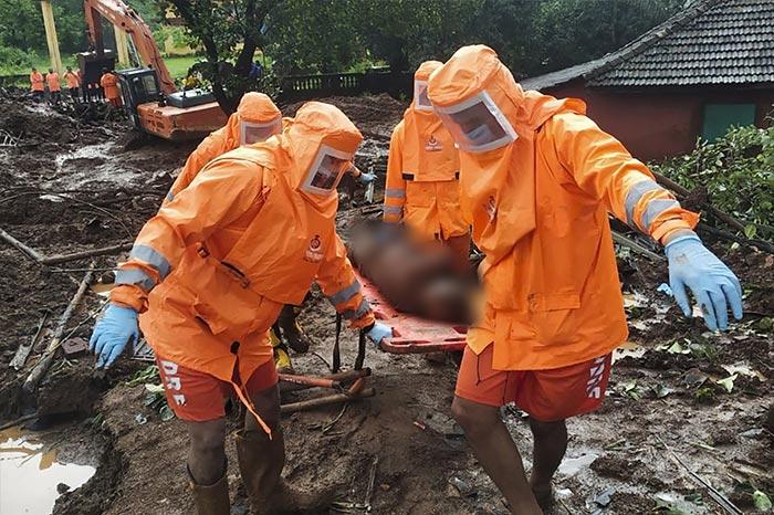 Disaster Response Team\'s Rescue Operations After Maharashtra Rain Fury