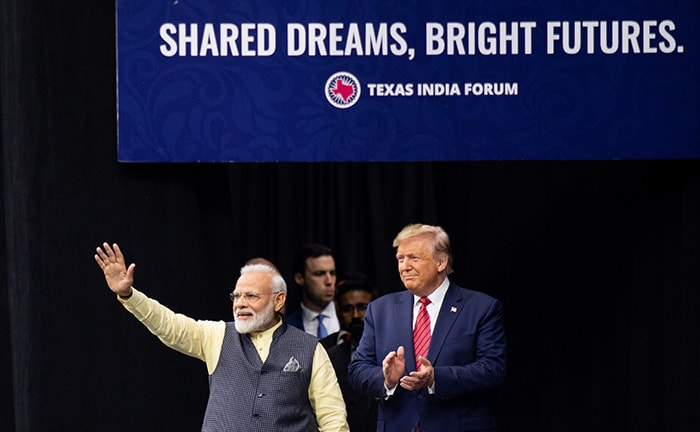 Donald Trump Wishes Pm Modi Belated Happy Birthday At Howdy Modi Event In Houston