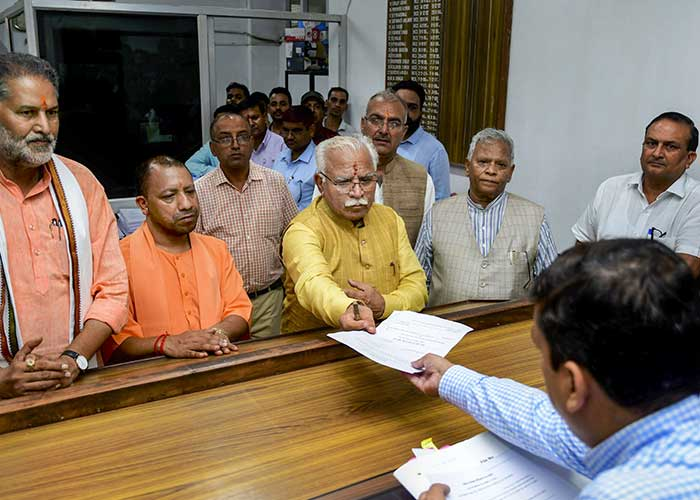 Haryana Assembly Elections 2019: Top Candidates File Nomination