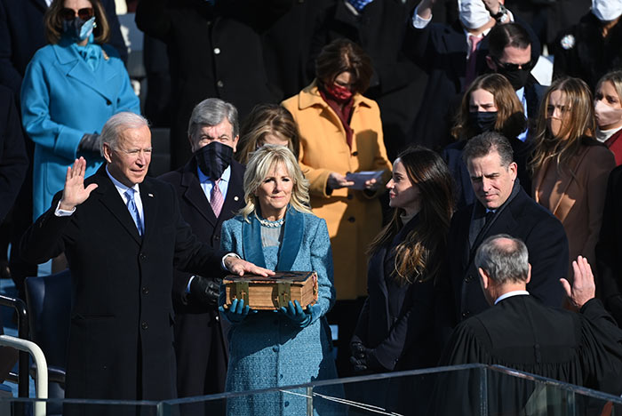 In Pics: Joe Biden Takes Oath As 46th President Of The United States