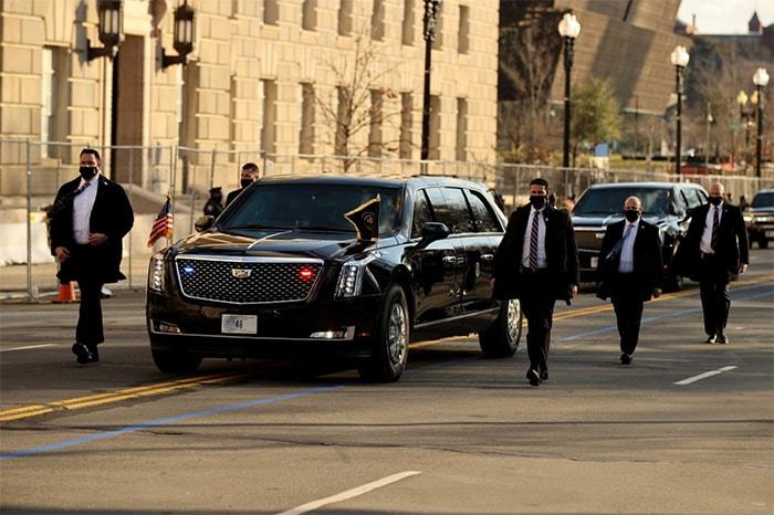 परिवार के साथ व्हाइट हाउस पहुंचे अमेरिकी राष्ट्रपति जो बाइडेन
