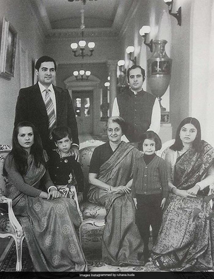 Indira Gandhi\'s 102nd Birth Anniversary: Congress Shares Throwback Photos