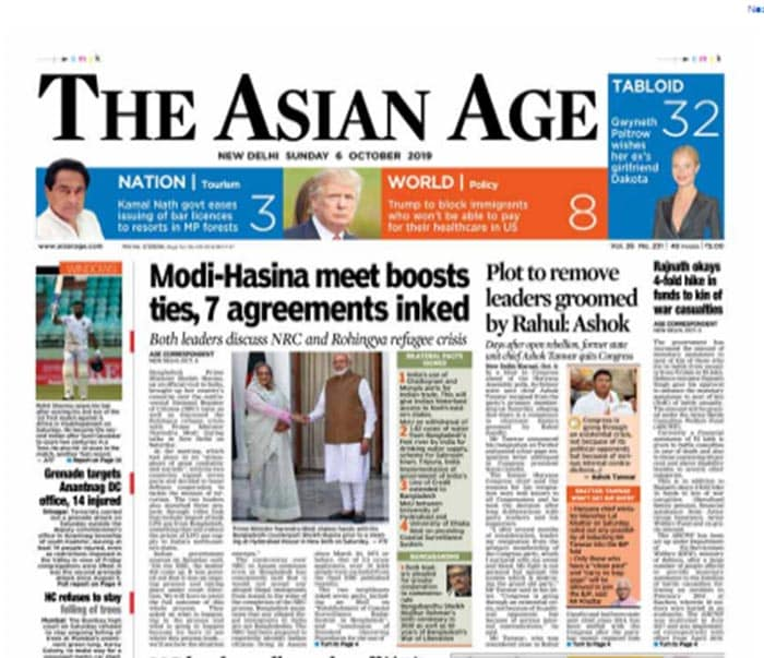 Pm Modi-Hasina Meet, Aarey Protests And Other Big Stories