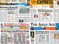 Photo : Newspaper Headlines: Maharashtra, Haryana Polls And Other Big Stories