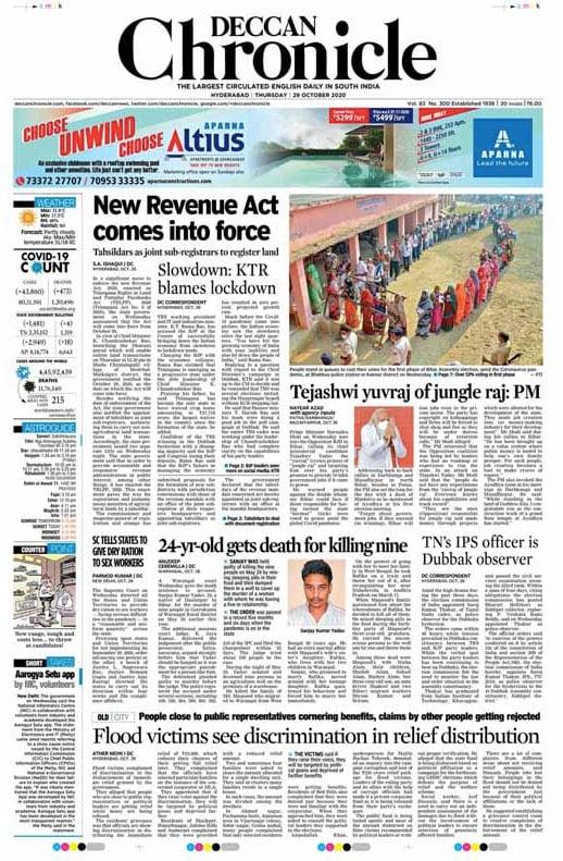 Newspaper Headlines: Tejashwi Yadav \'Yuvraj Of Jungle Raj\', Says PM Modi  And Other Top Stories