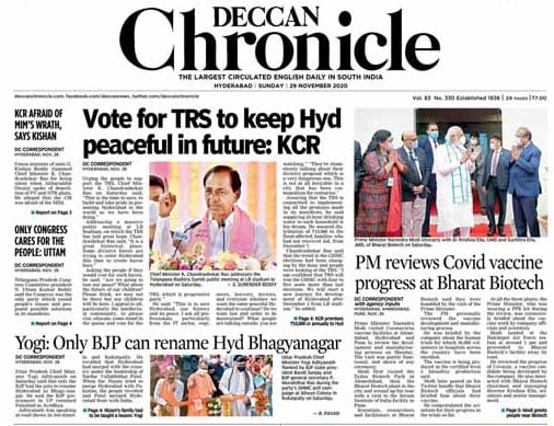 Newspaper Headlines: PM\'s 3-City Vaccine Tour, Farmers Protest And Other Top Stories