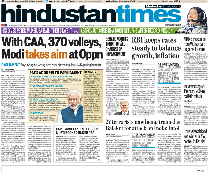 PM Modi Hits Out At Congress On Anti-CAA Protests & Other Top Stories