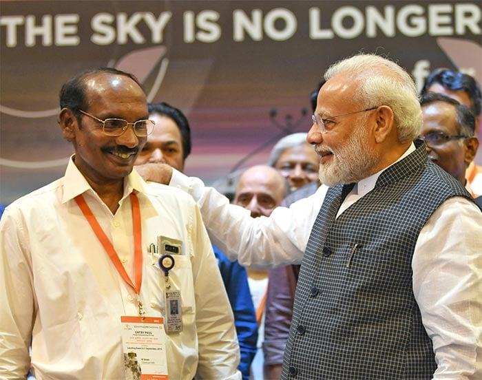 Photos: PM Modi Meets Scientists At ISRO After Chandrayaan 2 Heartbreak
