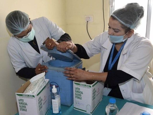 Photo : भारत में दूसरा कोरोनावायस वैक्सीन ड्राई रन शुरू, देखें तस्वीरें...