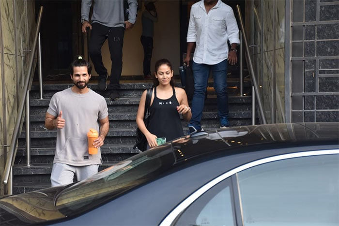 Power Couple Shahid And Mira's Busy Weekend - NDTV Movies