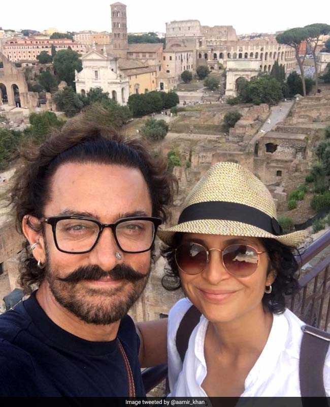 रोम में आमिर खान की सैर का आखिरी दिन कुछ यूं गुजरा