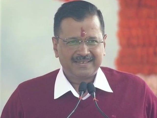 Photo : अरविंद केजरीवाल ने तीसरी बार दिल्ली के सीएम पद की शपथ ली, देखें तस्वीरें...