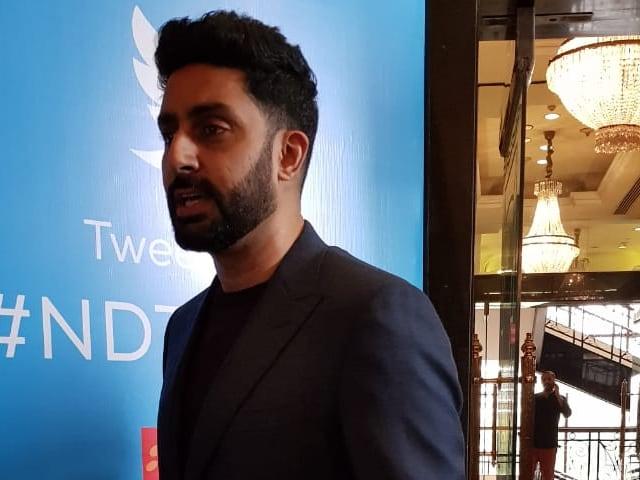 'NDTV युवा': अभिषेक बच्चन ने कहा, देश में टैलेंट की कमी नहीं, उसे स्पॉटलाइट में ले जाने की ज़रूरत