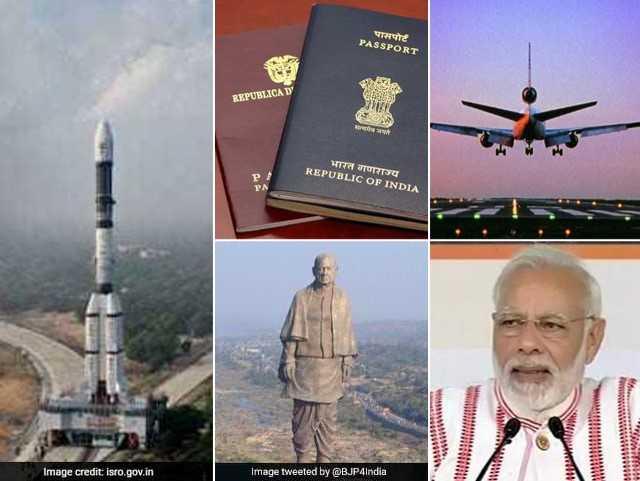 Photo : Yearender 2018: अंतरिक्ष में चमका भारत, स्टैच्यू ऑफ यूनिटी का पाया गौरव, इन वज़हों से खास रहा ये साल