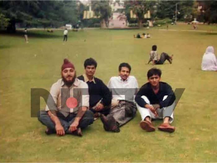 Photos of Akhilesh Yadav from his Mysore college days