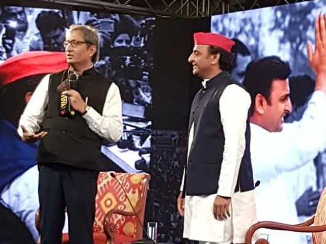 Photo : #NDTVYuva: 2019 के चुनाव पर क्या-क्या कहा अखिलेश यादव ने...
