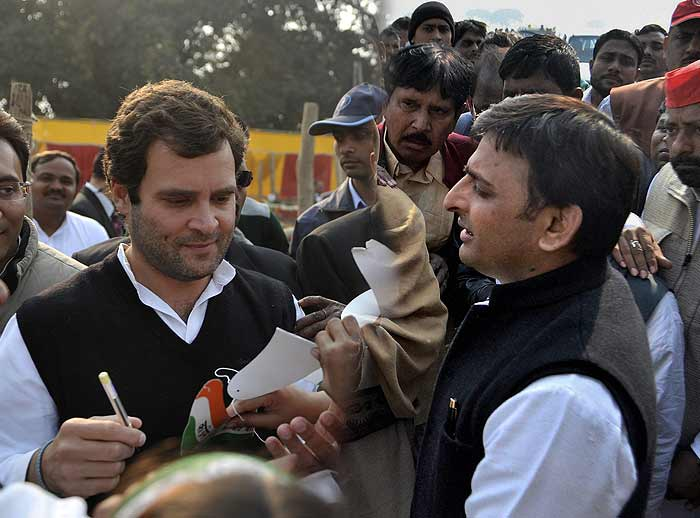 UP polls: Akhilesh Yadav vs Rahul Gandhi
