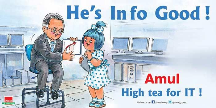 Amul\'s take on Narayana Murthy\'s return to Infosys