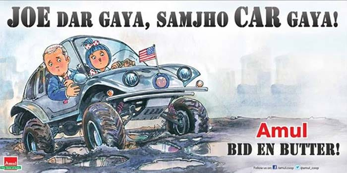 Amul takes a dig at Mumbai\'s potholes