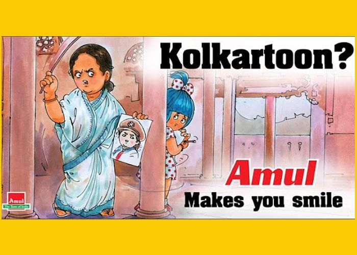 New Amul ad pokes fun at Mamata Banerjee