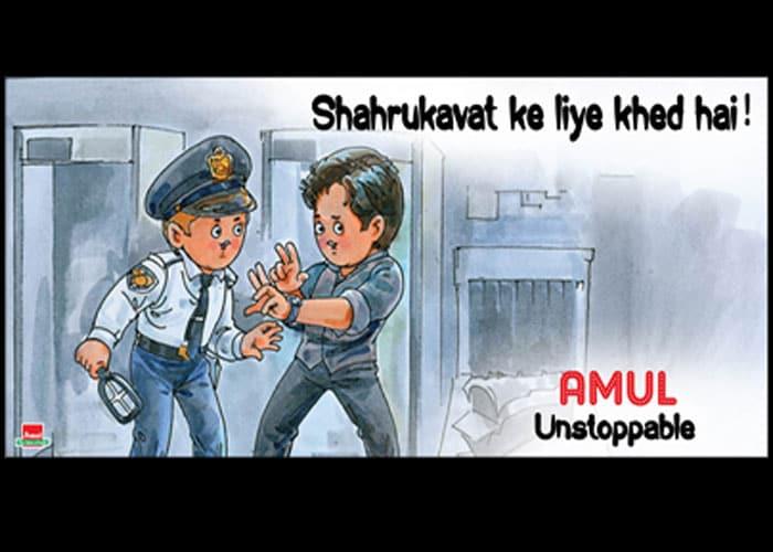 Amul comments on SRK\'s US detention